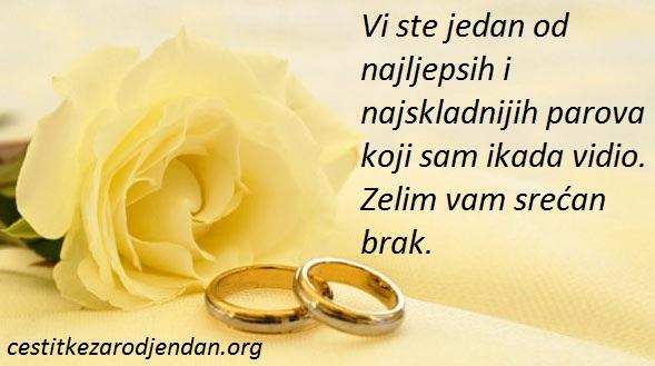 Čestitke povodom sklapanja braka